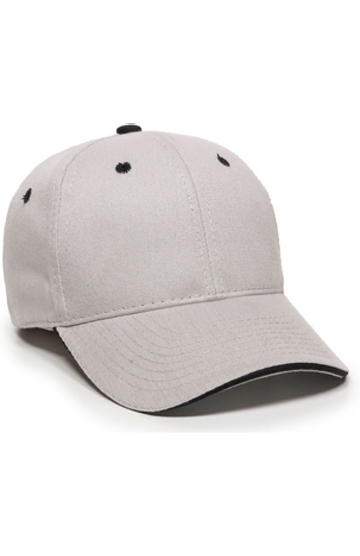 Outdoor Cap GL-845 Light Gray / Black