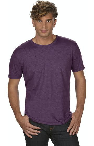 Anvil 6750 Heather Aubergine