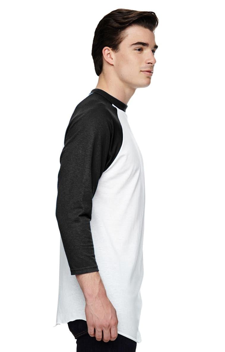 2c5fa7709b1 Augusta Sportswear AG4420 Adult 3 4-Sleeve Baseball Jersey - JiffyShirts.com