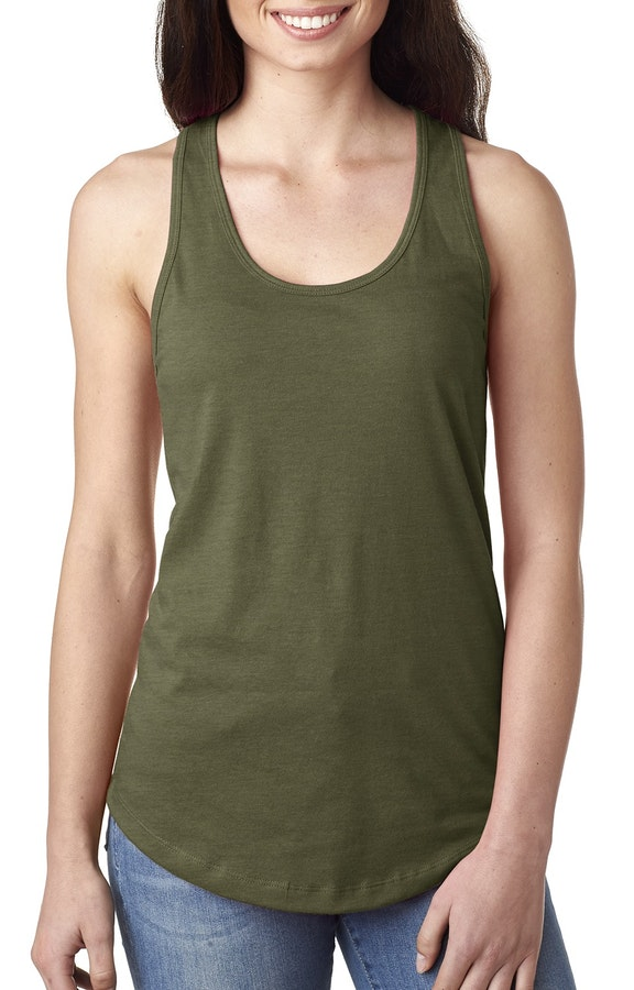 Next Level N1533 Military Green