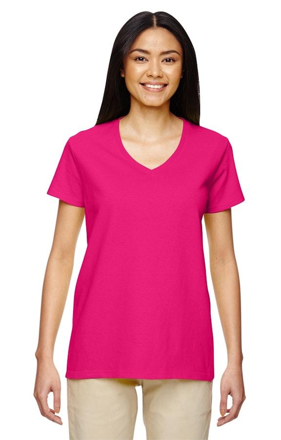 891374dcd Gildan G500VL Ladies' Heavy Cotton™ 5.3 oz. V-Neck T-Shirt ...
