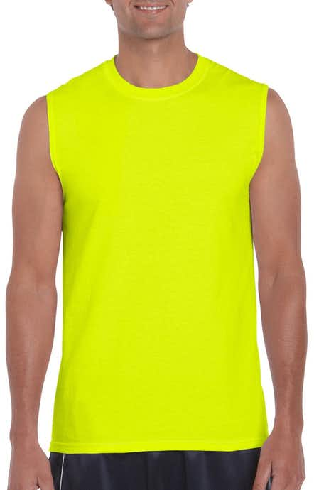 Gildan G270 High Viz Safety Green