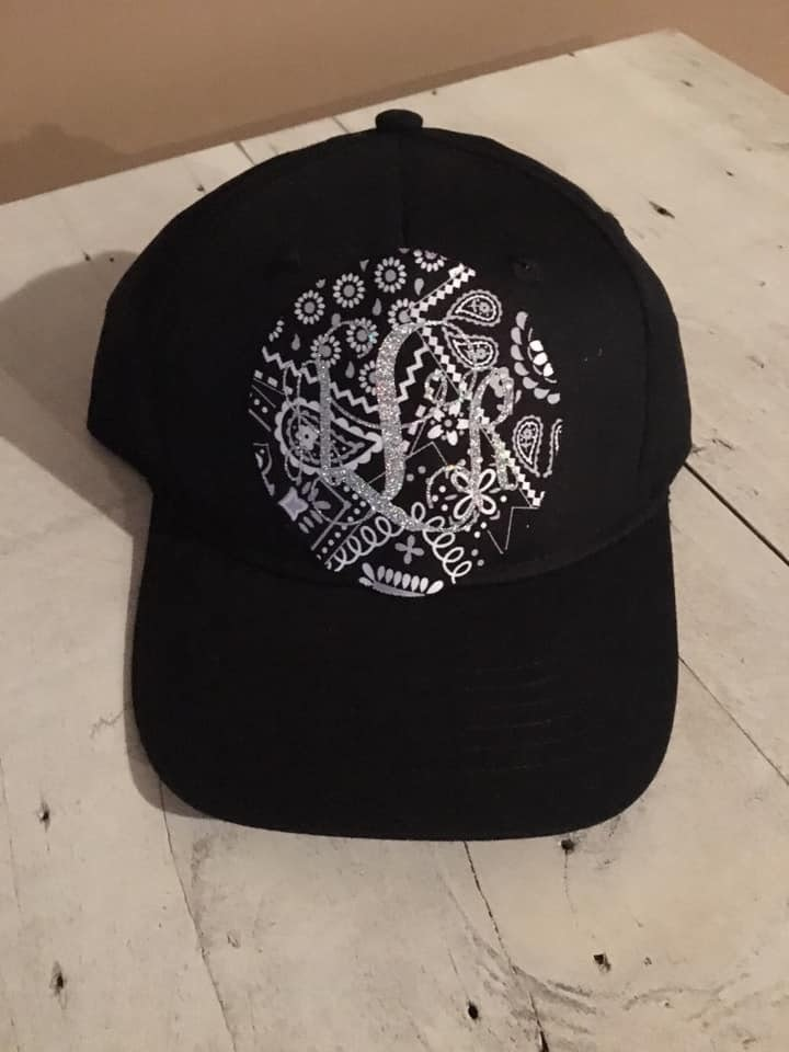 UltraClub 8122 customer review by Tiffany Bledsoe Youth Monogram Hat