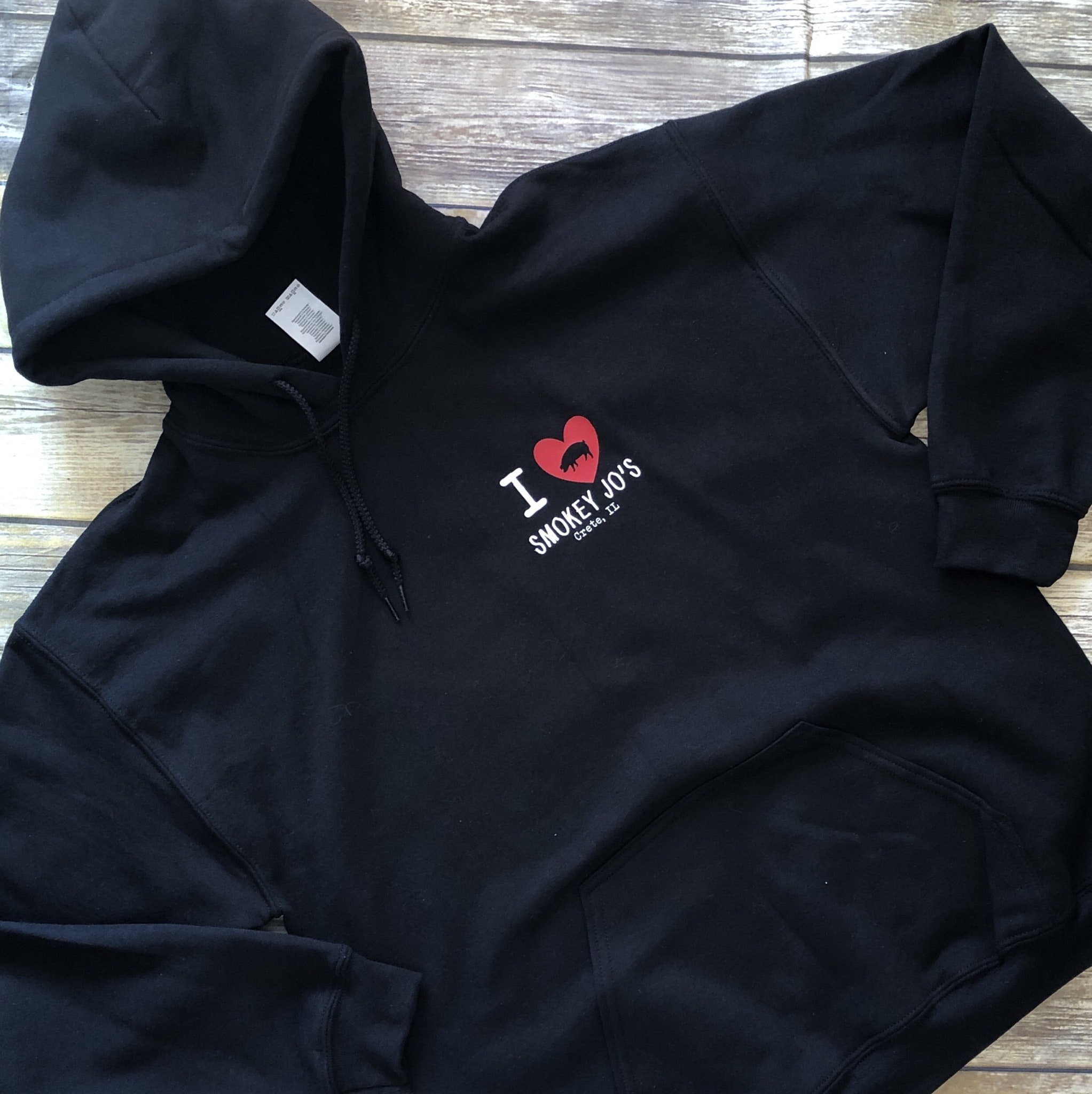 Gildan G185B customer review by Allison Alpers Nice thick hoodie.